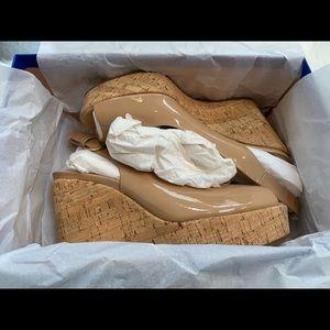 Stuart Weitzman Shoes - Stuart Weitzman Jean Wedge Nude